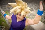 DBZ - Super Saiyan Gohan 4 by LiquidCocaine-Photos