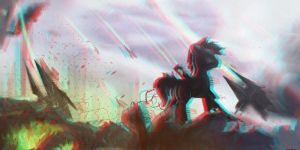 3D Depth Pony Test (Needs Red/Cyan Glasses) by thetriforcebearer