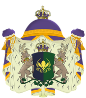 Greater Coat of Arms of Kingdom of Arendelle by otakumilitia