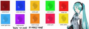 MMD: Radial Eye pack by Purple-Rage