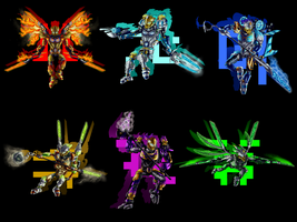 Toa Uniters by ToaLittleboehn
