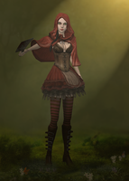 AliceRedRidinghood 2 by tombraider4ever