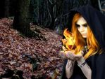 Dark Sorceress of Fire... by Callypso666