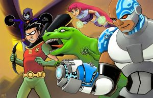 Teen Titans by MasonEasley