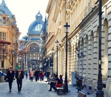 Architectural Style in Bucharest by Laura-Pietrusel