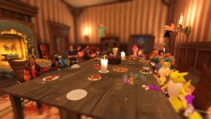 A Not So Fancy Dinner Party by RandomMadnessityfier