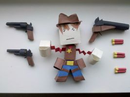 Cowboy by BuildMyPaperHeart