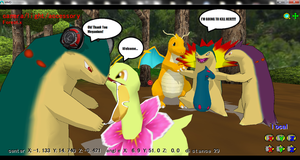 MMD Newcomer: Classic Meganium Download by ChrisTheDragoon