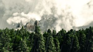 Raining mount. by Andywong75