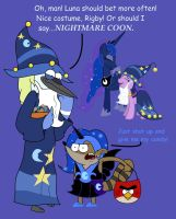 Rigby's Nightmare Night by Cartuneslover16