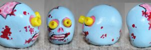 Zombie Sugar Skull 66 SOLD by angelacapel