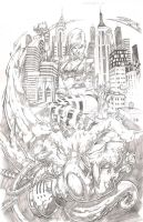 NYCC OFFICIAL PRINT Pencil by Vinz-el-Tabanas