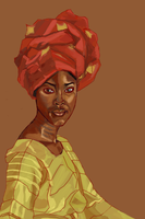 Africanwoman by L0ni