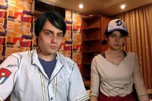 Javier and Clementine | twdg s3 costest by OrihimeSchiffer