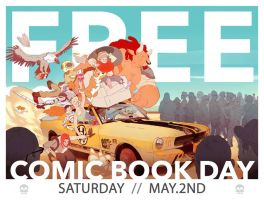 Free Comic Book Day by Sethard