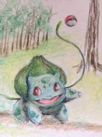 Playful Bulbasaur by MagicFlyingBunnies