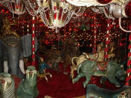 Carousel-House on the Rock-Spring Green Wisconsin by ice-queen-blue