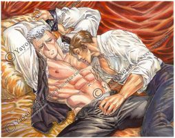 Kent and Alexi from INCUBUS by Thundertori