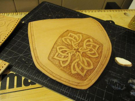 Celtic Knot Bag WIP 1 by AThousandRasps