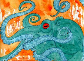Octopus by Shadowmanic