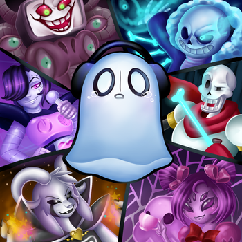 Ghost sandwich by Wizaria