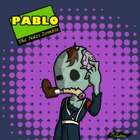Pablo the Nazi Zombie by ChibiNinja7