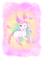 Sylveon by art-for-eternity