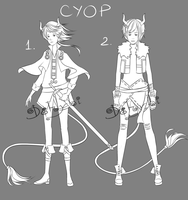 Adoptable [CYOP][AUCTION][ENDED] by Dehybi-Adopts