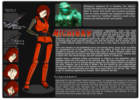 Agent Michigan By Bushtuckapenguin by JunoDagger