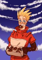 Vash The Stampede by FluffyFluffs