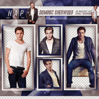 Pack Png 355 - Dominic Sherwood by BEAPANDA
