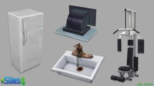 The Sims 4: Household Props by DeadXIII
