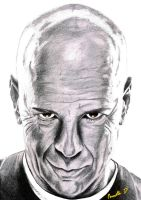 Bruce Willis by Cleitus