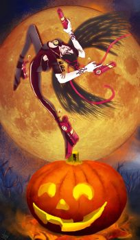 Pumpkin Witch by DevilsAlly