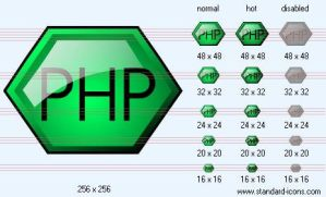 PHP Icon by standard-admin-icons