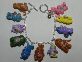 Care Bear Cousins Bracelet by Secretvixen