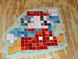 Stained Glass Mario by NerdCraft