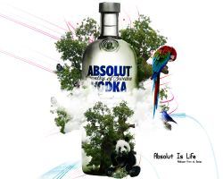 Absolut is life wallpaper by amiLOnZ