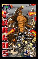 Irokus GN Back Cover by kaijuverse