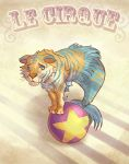 Le Circus: Tiger Mermaid by ScrawnySquall