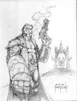 Hellboy - Con Commission by JMan-3H