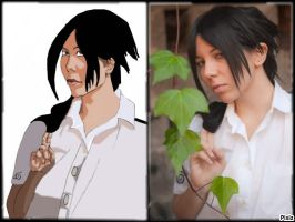 dessin portrai de uchimakipro by yvelise