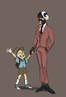 FATHER SPY by Snottle