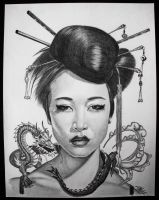 NUWA The Chinese Goddess of Creation by Clutch-MFD