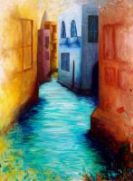 5 and a Half Minute Canal by KimAmI
