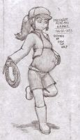 Pregnant Pokemon ranger by Doom-the-wolf