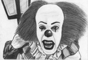 Stephen King's Pennywise IT by NymphetamineSyndrome