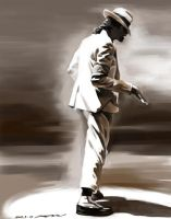 MJ in Smooth Criminal by darkdamage