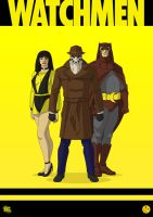 Watchmen by morganobrienart