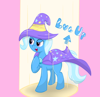 Trixie is leveling up! by Lomeo